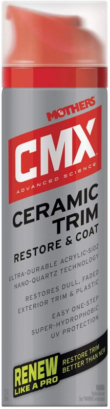 Mothers CMX Ceramic Trim Restore & Coat rubber & plastic